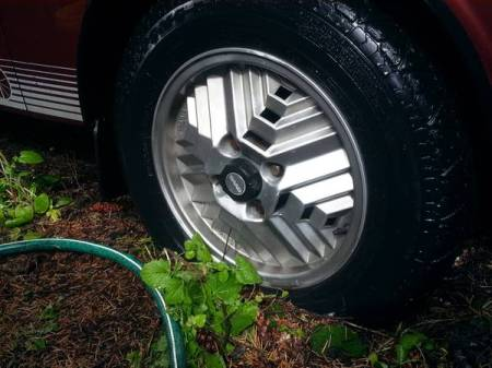 1978 Saab 99 Turbo inca wheel