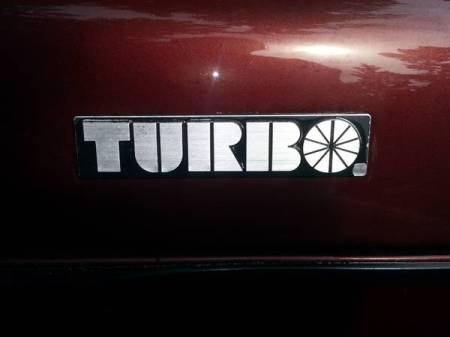1978 Saab 99 Turbo TURBO badge