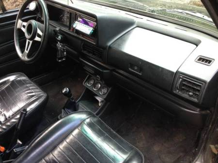 1980 VW Caddy GTI 16V interior