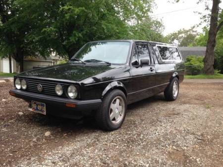 1980 VW Caddy GTI 16V left front