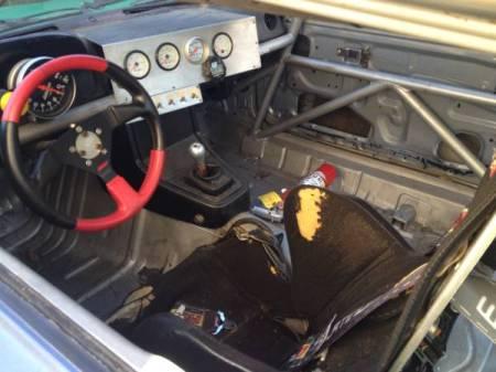 1981 Mazda RX-7 race car interior