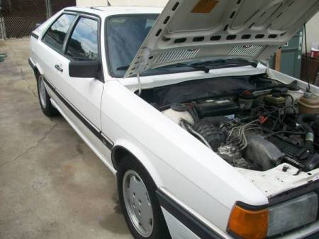 1985 Audi GT right front