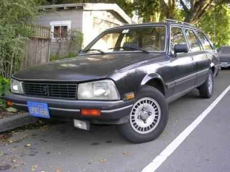 1985 Peugeot 505S wagon left front
