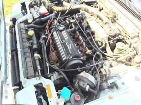 1987 Honda Prelude Si engine