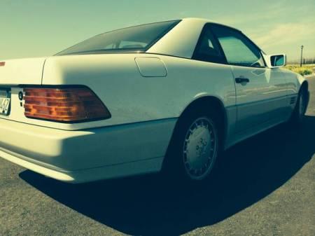 1991 Mercedes Benz 500SL right rear