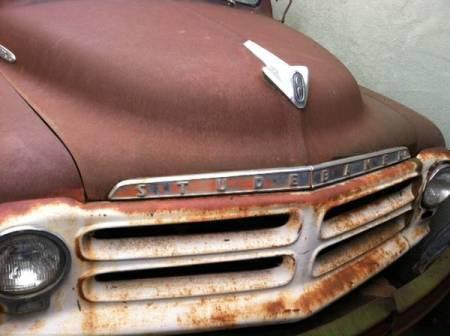 1955 Studebaker pickup front