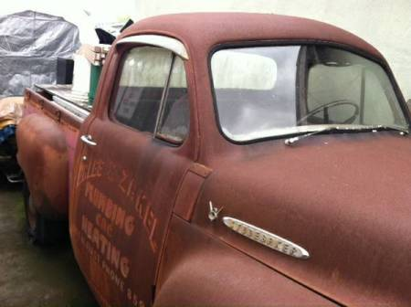 1955 Studebaker pickup right side