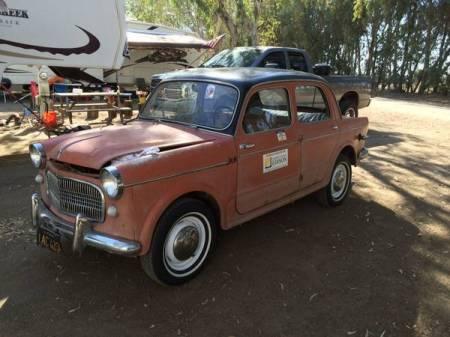 1958 Fiat 1100 left front
