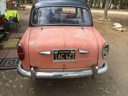 1958 Fiat 1100 rear