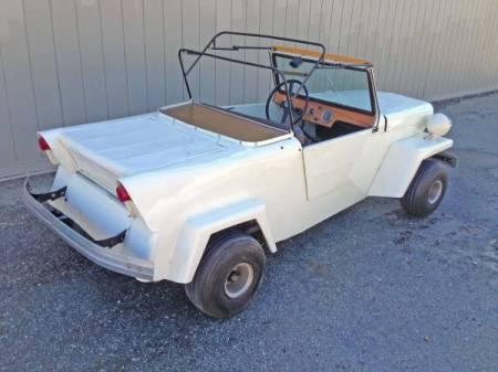 1963 King Midget III right rear