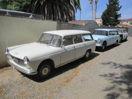 1964 1966 1968 Peugeot 404 Break collection