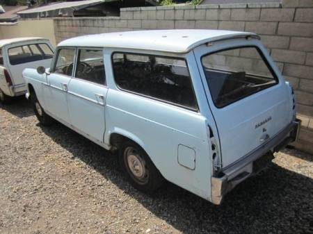 1966 Peugeot 404 Break left rear