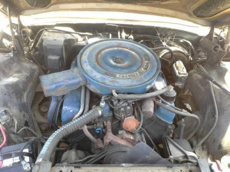 1968 Ford Thunderbird sedan engine