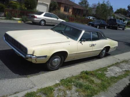 1968 Ford Thunderbird sedan left front