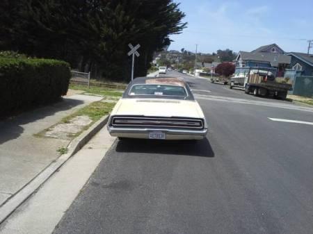 1968 Ford Thunderbird sedan rear