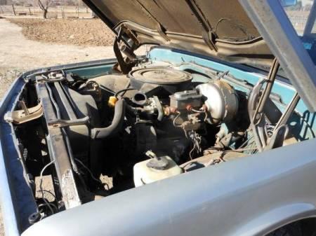 1969 Chevrolet Suburban engine