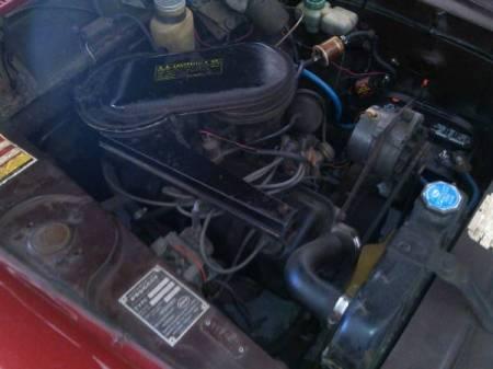 1969 Peugeot 404 engine
