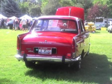 1969 Peugeot 404 right rear