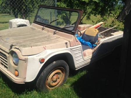 1970 Citroen Mehari left front