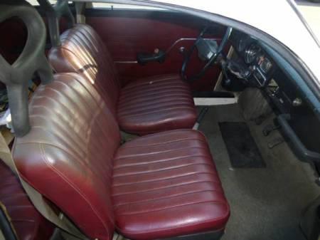 1970 Saab 96 interior