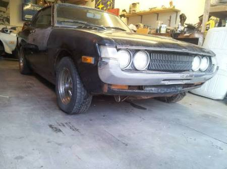 1971 Toyota Celica right front