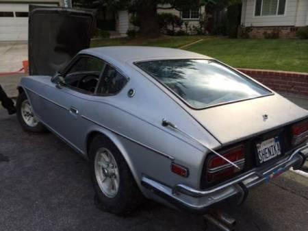1972 Datsun 240Z left rear