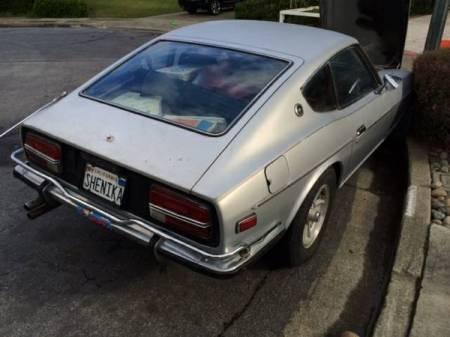 1972 Datsun 240Z right rear