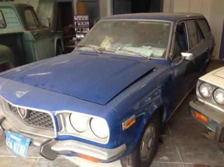 1973 Mazda RX-3 wagon left front