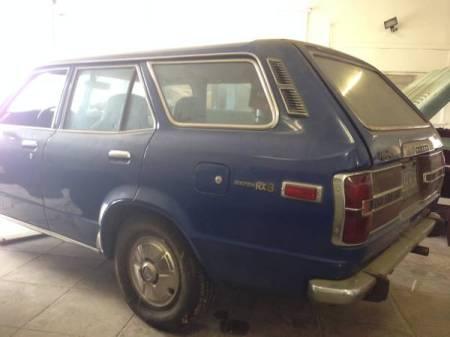 1973 Mazda RX-3 wagon left rear