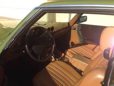 1975 Mercedes 280SLC interior