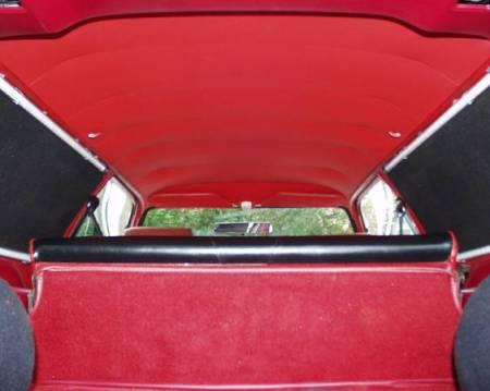 1977 Ford Pinto Cruising Wagon interior