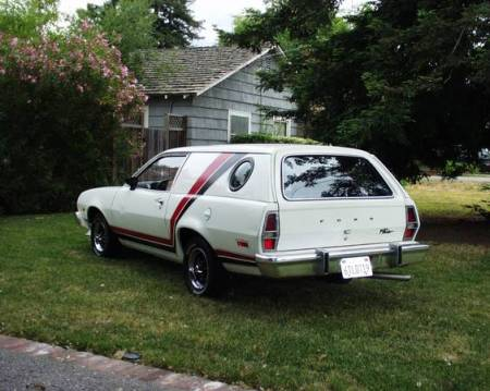 1977 Ford Pinto Cruising Wagon left rear