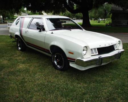 1977 Ford Pinto Cruising Wagon right front