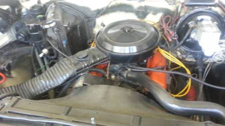 1977 GMC Jimmy Casa Grande engine