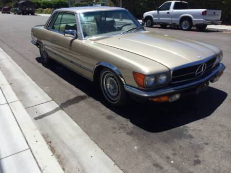 1978 Mercedes 450SLC right front