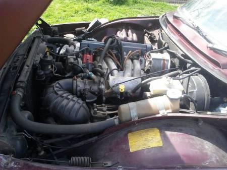 1978 Saab 99 EMS engine