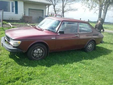 1978 Saab 99 EMS left front