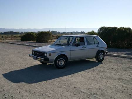 1980 VW Rabbit left front
