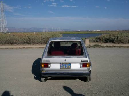 1980 VW Rabbit rear