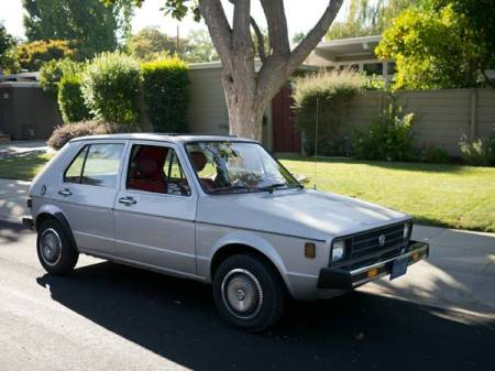 1980 VW Rabbit right front