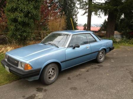 1981 Mazda 626 coupe left front