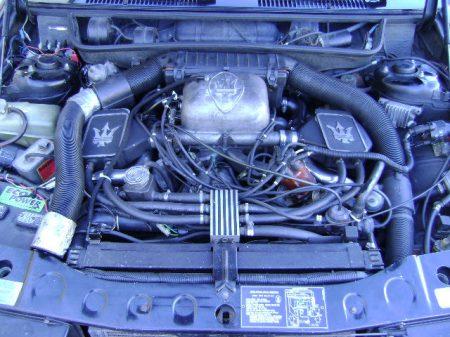 1984 Maserati Biturbo engine