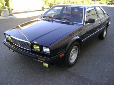 1984 Maserati Biturbo left front