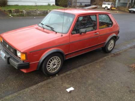 1984 VW Rabbit GTI left front