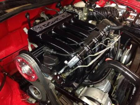 1986 VW Scirocco engine