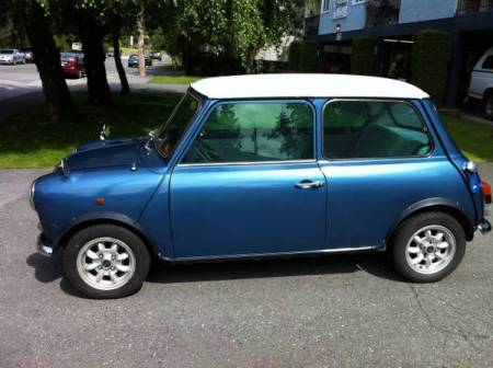 1987 Austin Mini left side