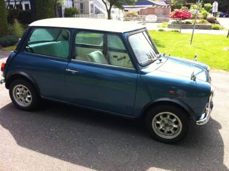 1987 Austin Mini right side