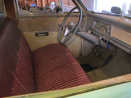 1952 Studebaker Champion interior