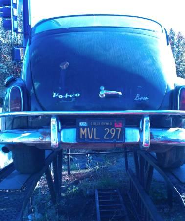1964 Volvo 544 rear
