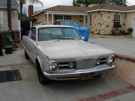 1965 Plymouth Barracuda right front